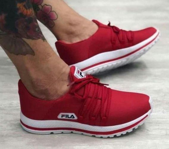 Tênis Fila Trend 3 568x503 - Tênis Fila Vermelho