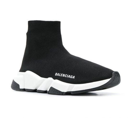 Balenciaga Speed Trainer on feet 568x492 - Balenciaga Speed Trainer on feet